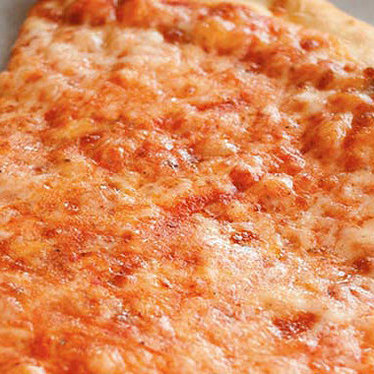 Cheese pizza at Arinell Pizza