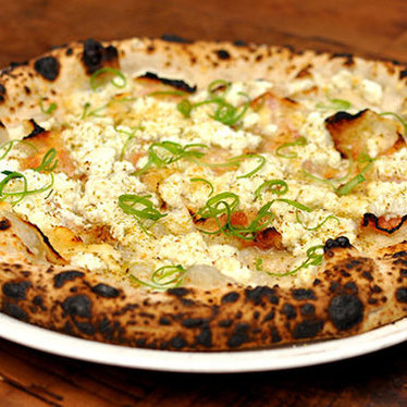 Guanciale pizza at Sotto