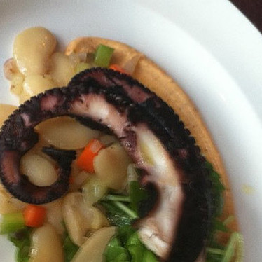 Grilled octopus at Central Kitchen