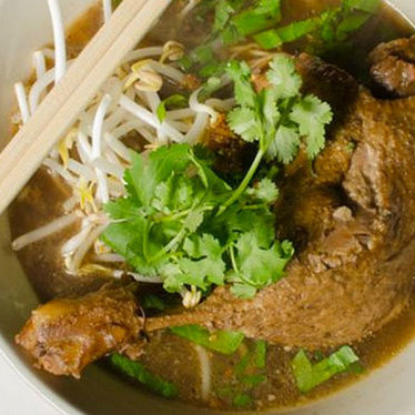 Duck noodle soup at Titaya's Thai Cuisine