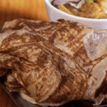 Home made roti canai at Penang Malaysian Cuisine Restaurant