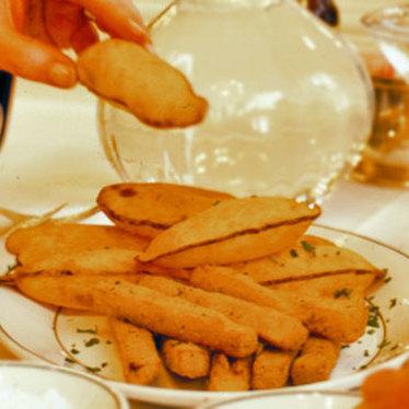 Soufflé potatoes at Galatoire's