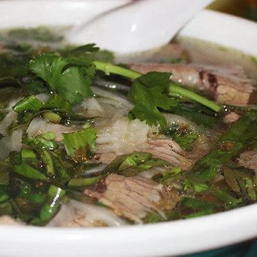 Phở chín bò viên at Dong Phuong Oriental Bakery
