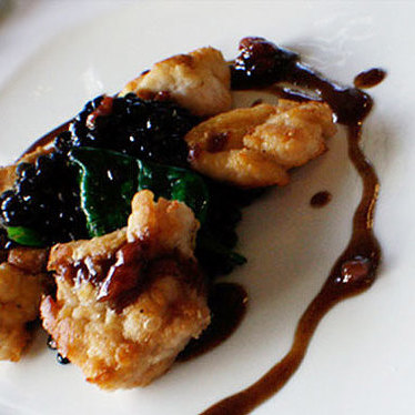 Sautéed sweetbreads at Patois