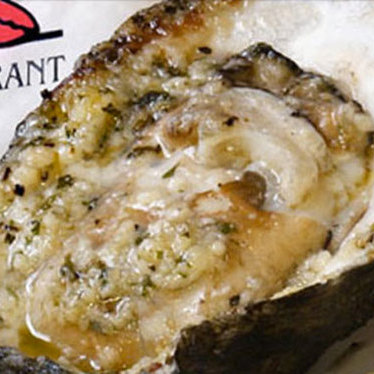 Drago's original charbroiled oysters at Drago's Seafood Restaurant