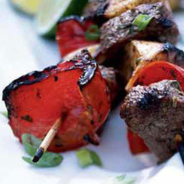 Filet mignon kebab at SAWA Restaurant and Lounge