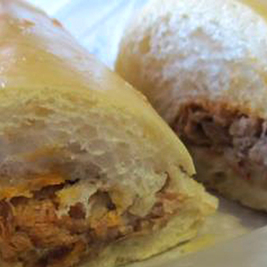 Pork sandwich at Papo Llega y Pon