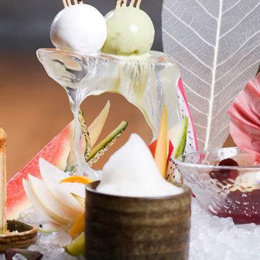 Dessert platter at Zuma