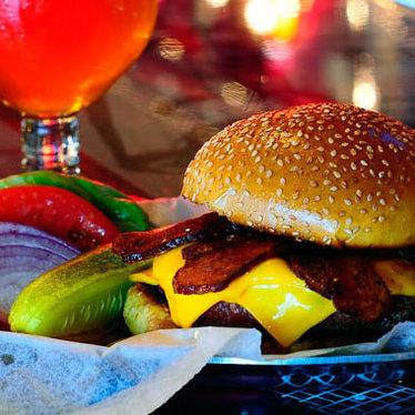 Thunder Road burger at Burger & Beer Joint (B&B)