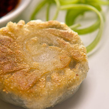 Leek dumpling at Tropical Chinese Restaurant
