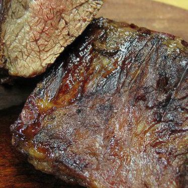 Skirt steak at Baires Grill