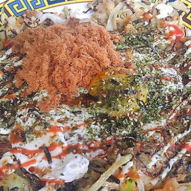 Okonomiyaki at Xiao Bao Biscuit