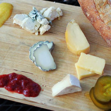Cheese plate at Vincent