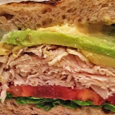 Turkey, avocado, lettuce & tomato sandwich at Whisk Gourmet