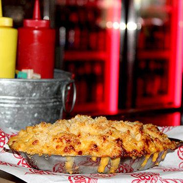 Mac Daddy cheese gratin at Burger & Beer Joint (B&B)