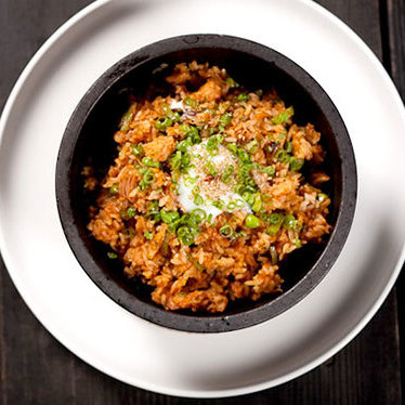 Kimchee fried rice at Pubbelly