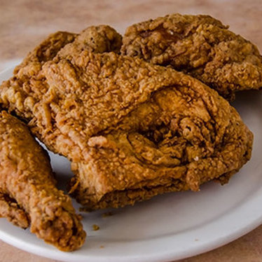 Fried chicken at Arnold's Country Kitchen
