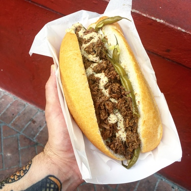 Beef Debris Po Boy at Killer PoBoys