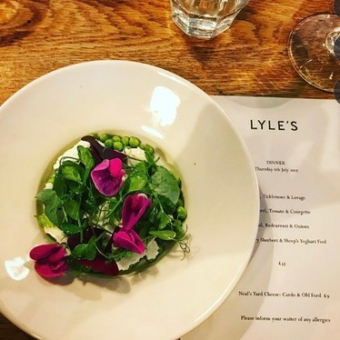 Pea dish at Lyle's