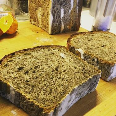 Bourbon-barrel ash cumin rye loaf at SubCulture Dining