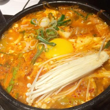 Kimchi Stew at Park's BBQ