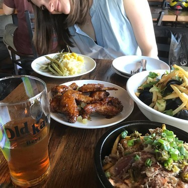 Lunch plates at Old Kan Beer & Co.