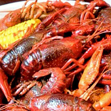 Crawfish at Pappadeaux Seafood Kitchen