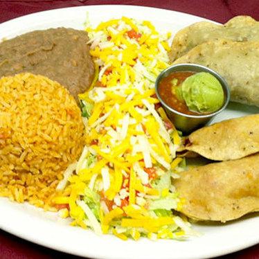 Crispy tacos at Avila's
