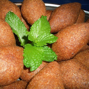 Kibbeh at Sultan's Grill & Ginger Juice Bar