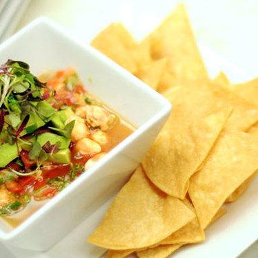 Ceviche robalo at Mesa Veracruz Coastal Cuisine