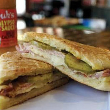Cuban sandwich at Jimmy's Food Store