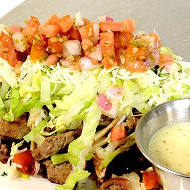Beef tenderloin tacos at Fire Oak Grill