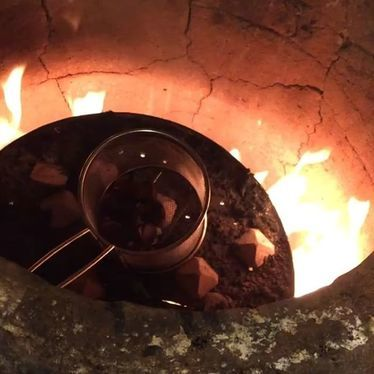Tandoor roasted chestnuts at NIX