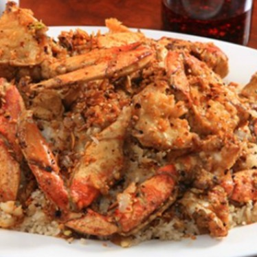 Jumbo crab in spicy garlic sauce at J.S. Chen's Dim Sum & BBQ