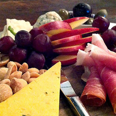 Cheese & salumi at Veritas Wine Room
