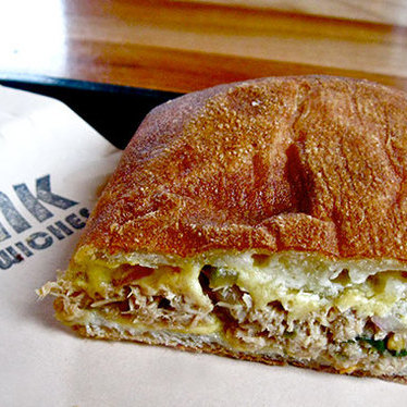 Oregon albacore tuna melt at Bunk Sandwiches