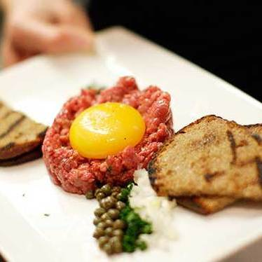 American wagyu beef tartare at Paley's Place