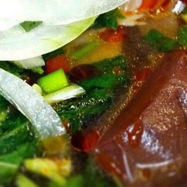 Bún bò Huế at Bun Bo Hue Restaurant