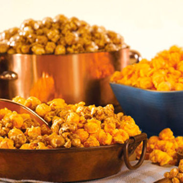 Popcorn at Garrett Popcorn Shops - Merchandise Mart