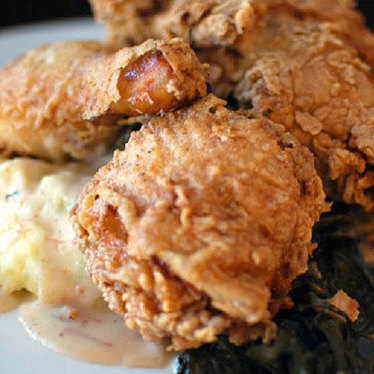 Draper Valley fried chicken at Irving Street Kitchen