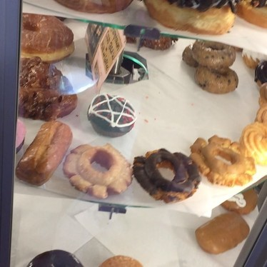 Doughnuts at Voodoo Doughnut