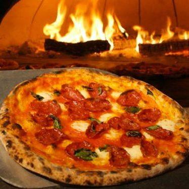 Soppressata pizza at Ken's Artisan Pizza