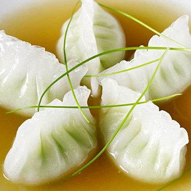 Edamame dumplings at Buddakan