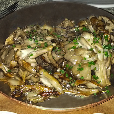 Roasted Hen-of-the-Woods mushrooms at Craft
