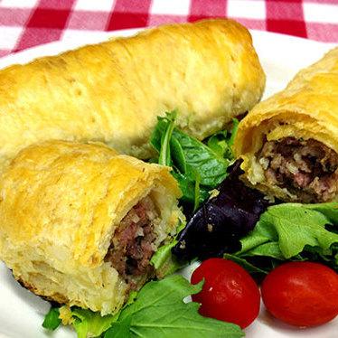Cumberland sausage roll at Myers of Keswick