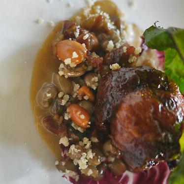 Smoked quail at Lula Café