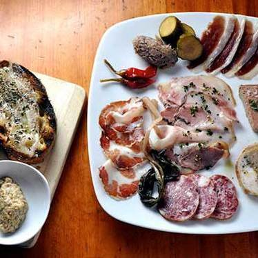 Housemade charcuterie at Hearth