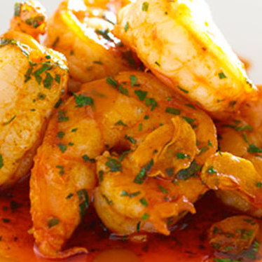 Shrimp alhinho at Aldea