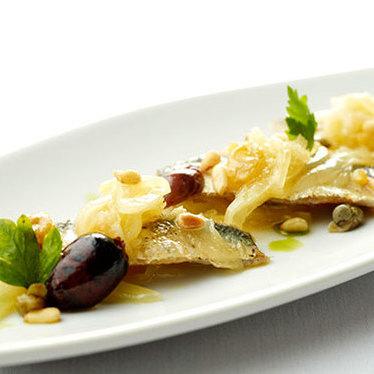 Sicilian sardine escabèche at Boulud Sud