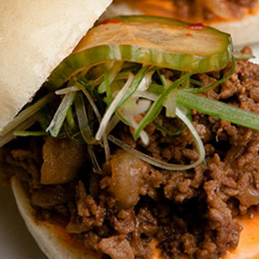 Bulgogi beef sliders at Danji